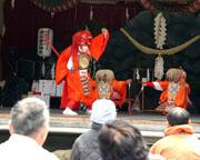 中江岩戸神楽定期公演の写真