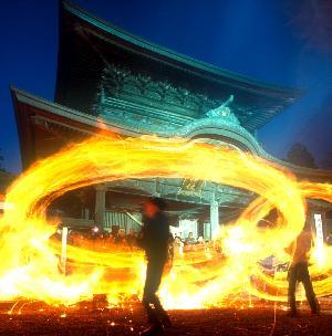 阿蘇神社「田作り祭」画像