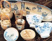 乙姫焼 工房花と陶房楽