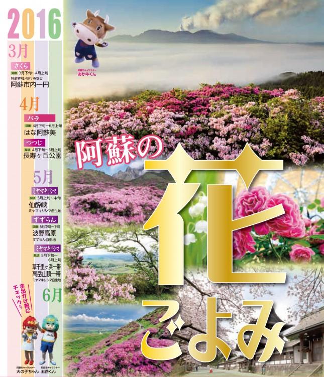阿蘇の花ごよみ2016チラシ