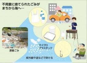 マイクロプラスチックのフロー図