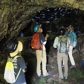米塚溶岩トンネル