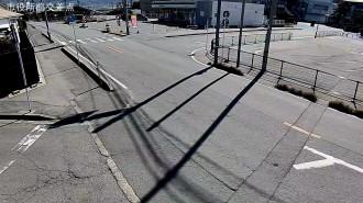 市役所交差点前のカメラの映像